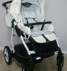 коляска 2 в 1 jedo memo exclusive экокожа