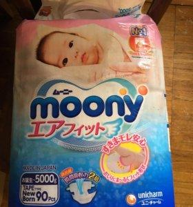 Подгузники moony до 5 кг