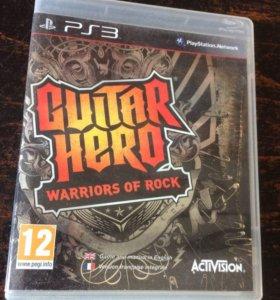 Guitar Hero Warriors of Rock, ps3