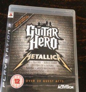 Guitar Hero Metallica, ps3