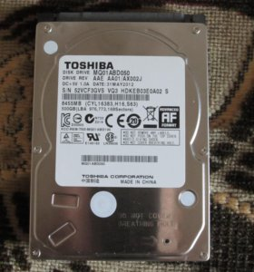 "Жёсткий диск 2,5"" Toshiba MQ01ABD050 500 гб"