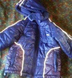 Куртки на мальчика тёплые