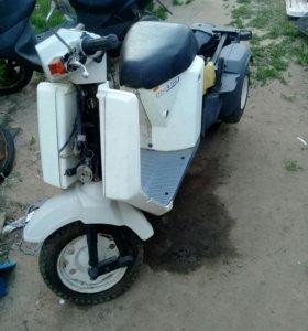 Разбор Honda Gyro Up