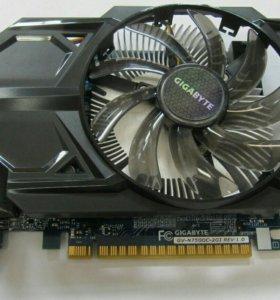 Видеокарта gigabyte gtx 750 2GB
