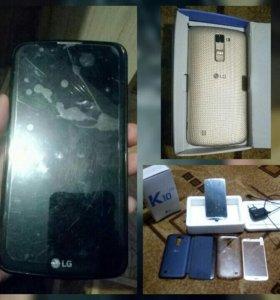 Продам телефон LG K10 K410 2016 год.