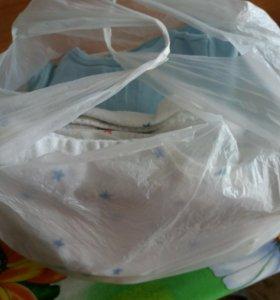 Вещи пакетом для детей 0 +