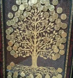 Денежное дерево на заказ