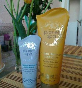 Avon Planet SPA Turkish Hamam и маска для лица