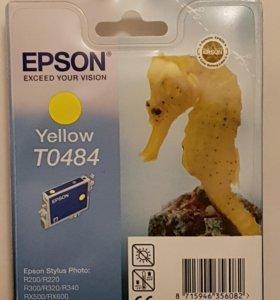 Картридж EPSON Yellow TO484