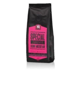Кофе в зёрнах и молотый Special
