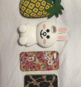 Чехлы на IPhone 4, 5, 7