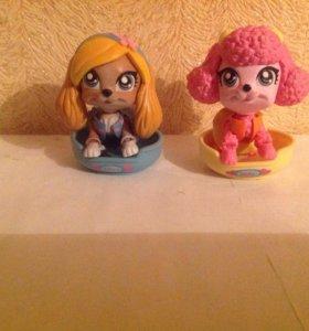 Mini игрушечные собачки(6+)
