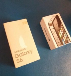 Коробки iphone 4s, samsung galaxy s6