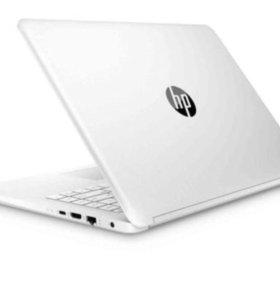 Новый ноутбук HP 14'' 2 ядра, 4гб, 256гб ssd