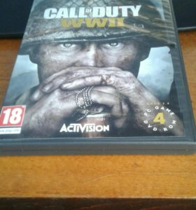 Диск Call of Duty WWII