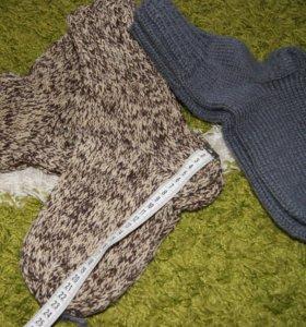 Носки мужские и женские ручная вязка