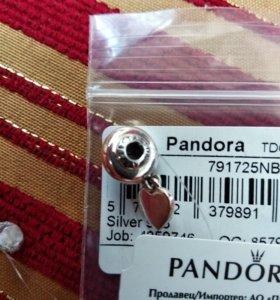 Шарм серебряный на браслет Пандора