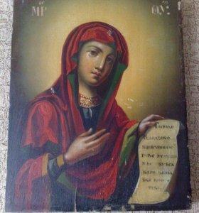 Икона. Богородица Утешительница.Век 19.