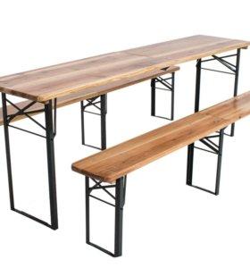 Набор лавки+стол