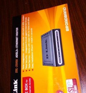 Маршрутизатор D-link DSL-2500u ADSL2+