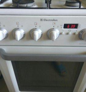 Электрогазовая плита Electrolux