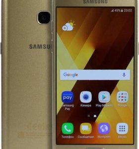 СРОЧНО!!!!Samsung galaxy A3 2017 цвет золото