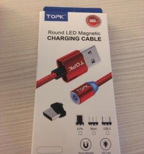 Магнитный кабель для зарядки iPhone