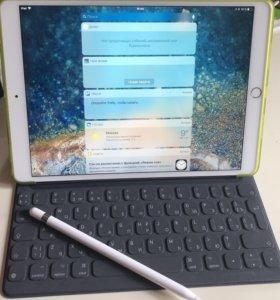 iPad Pro 10.5, Apple Pencil,Smart Keybord
