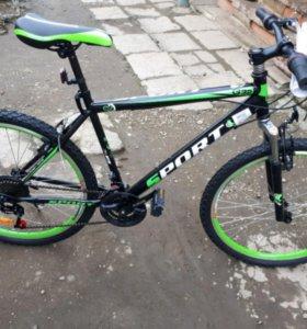 Новый горный велосипед