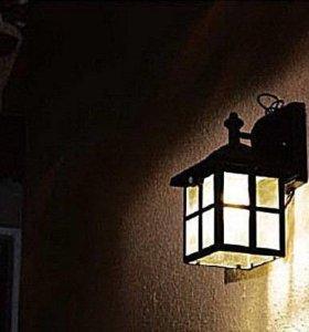 Декоративный светильник с солнечной панелью(0237)