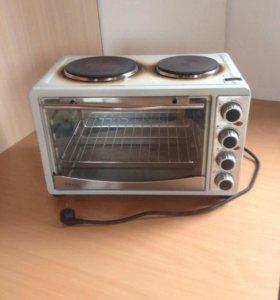 Электро-плита с духовкой