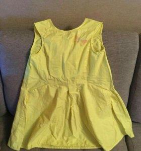 Платье летнее для девочки 10 лет