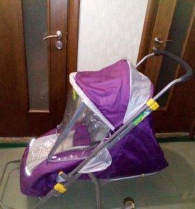 Санки-коляска Ника детям-4