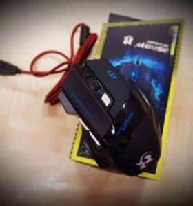 Мышь игровая T6 (Новая)