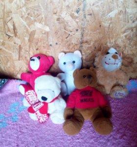 Мягкие игрушки 13 шт