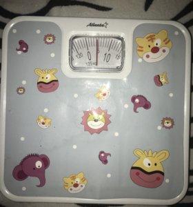 Детские напольные весы