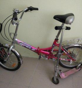 Подростковый велосипед Stels 450