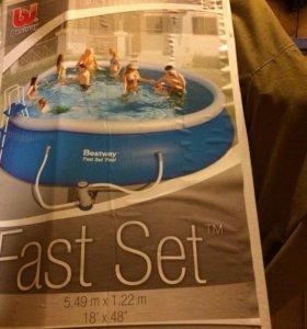 Bestway Fast Set Pool 549×122