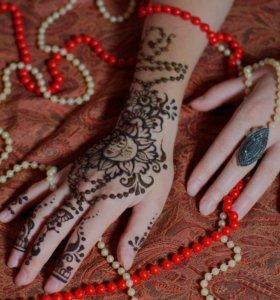 Мехенди - роспись натуральной хной