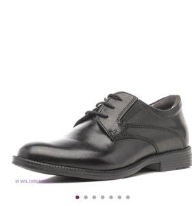 Ботинки для мальчика, новые, кожа натуральная