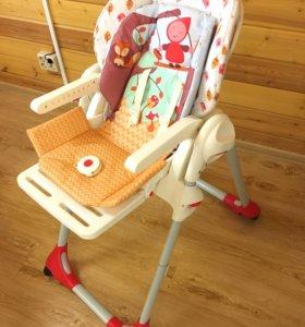 Детский стульчик для кормления Chicco Polly Happy