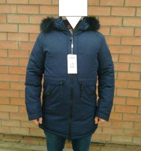 Новая зимняя мужская куртка, р48-50