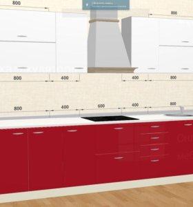 Кухоня Модерн 3,0 м (доставка, сборка)