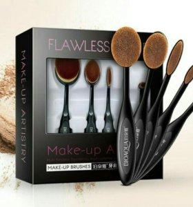 BioAqua Make-Up Brushes (5шт) набор кистей
