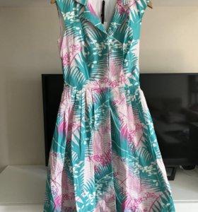 Новое летнее платье в стиле ретро 👗
