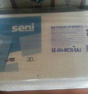 Памперсы для взрослых SENI размер 2(М)