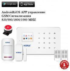 Сигнализация беспроводная, GSM, Kerui-G18