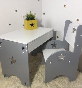 Детский столик Парта и стульчик