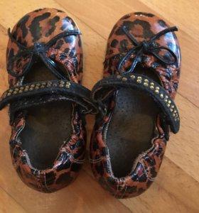 Туфельки 21 размер ИТАЛИЯ