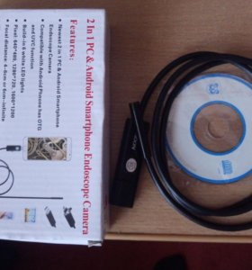 USB Endoscope camera 2 in 1 PC & Android